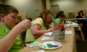 Painting workshop in Clinton, Iowa