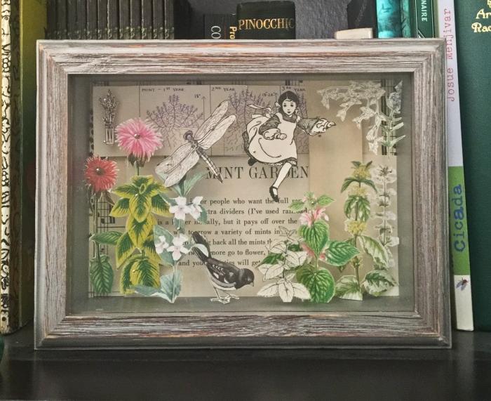 Mint Garden Shadowbox