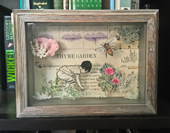 Thyme Garden Shadowbox